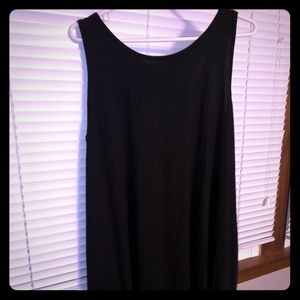 Dresses - One Size Basic Black Dress/Cover Up